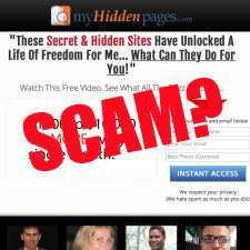 Is My Hidden Pages a scam?