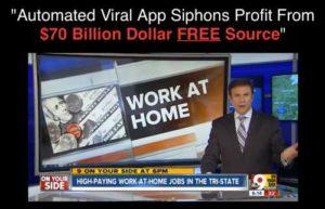 Viral Cash App home page sales video