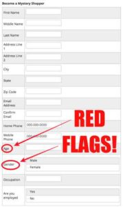American Consumer Eyes Sign Up Form