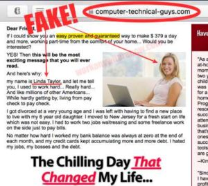 Computer Technical Guys Fake Owner Linda Taylor