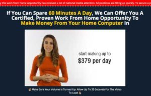 Home Income System Sales Video