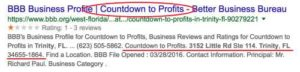 My Ecom Club connected with Countdown to Profits