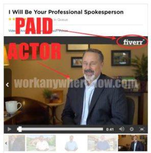 Easy Retired Millionaire Fake Testimony Fiverr Actor
