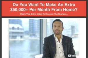 High Ticket Wealth System sales video, sales page