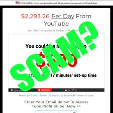 Is Tube Sniper Profit A Scam?