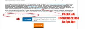 Money Finder USA Form Opt-Out Of Spam