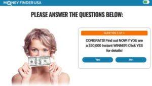 Money Finder USA ads 2