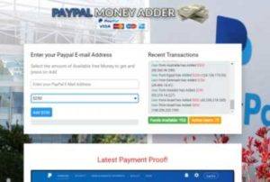 PayPal Money Adder Example 3