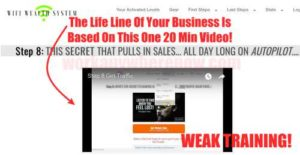 Wifi Wealth System One Training Video