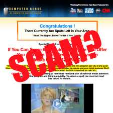 is Computer Gurus work from home link posting a scam program?