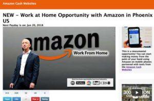 Amazon Cash Websites home page 2