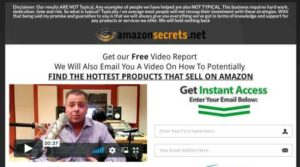Amazon Secrets sales video