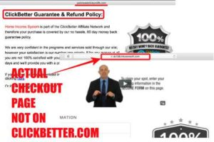 Home Income System pointandclickprofit.com checkout page