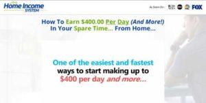Home Income System pointandclickprofit.com sales video