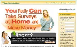 Survey Money Machines home page