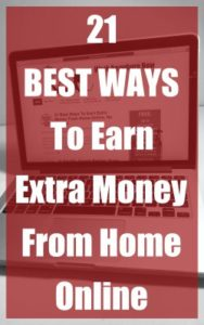 21 Best Ways to Earn Extra Money from Home Online banner