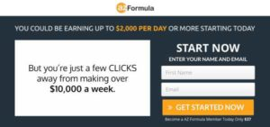 AZ Formula sales video