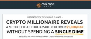 Coin Code Club sales page