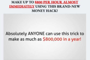 Instant Payday Tricks sales video