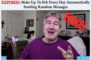 Message Money Machine fake testimonies 2