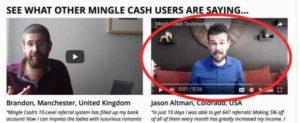 Mingle Cash Fake Testimonies