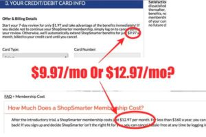 Shop Smarter membership rates