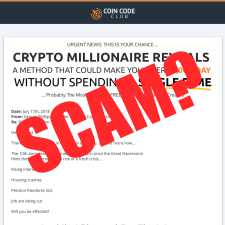 is Coin Code Club a scam
