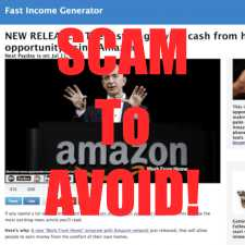 is Fast Income Generator a scam