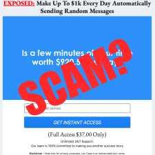 is Message Money Machine a scam