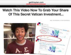 Get This Plan Fake Testimony 3