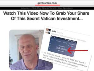 Get This Plan Fake Testimony
