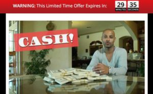 Instant Income Method sales video home page