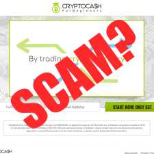 Is Crypto Cash For Beginners a scam