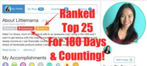 My WA Profile Shows I'm Rank 10 & Ambassador