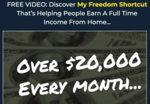 The Freedom Shortcut sales video