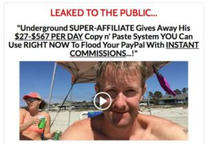 The Residual Income Code sales video