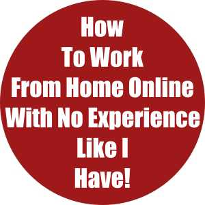 How To Work From Home Online With No Experience Like I Have!