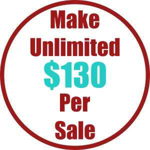 Make Unlimited $130 Per Sale This Black Friday Weekend!