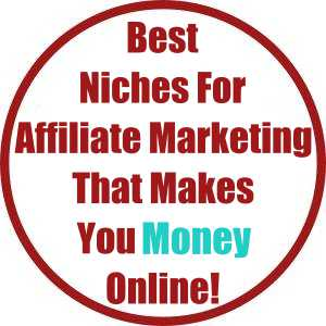 Best Niches For Affiliate Marketing That Makes You Money Online