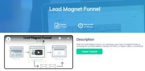 Builderall Lead Magnet Sales Funnel