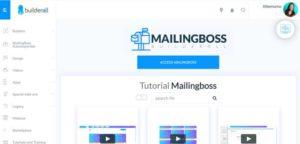 Builderall MailingBoss - Membership area