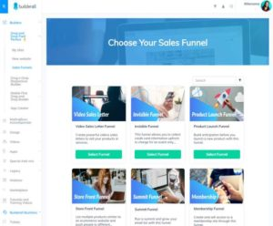 Builderall Sales Funnel Templates