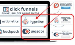 ClickFunnels has Pypeline and Wasabi coming