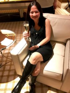 """Grace aka """"littlemama"""" in Vegas for the Wealthy Affiliate Super Affiliate Conference"""