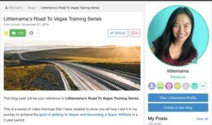 Littlemama's Road To Vegas Training Series