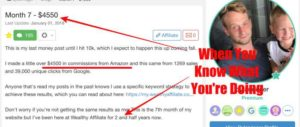 Success Story 2 At Wealthy Affiliate