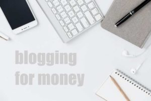 keyboard, iphone, and blogging for money words