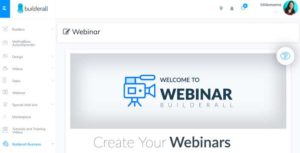 Builderall's Webinar platform