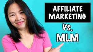 Affiliate Marketing vs Multi-Level-Marketing (MLM) [What The Heck Is The Difference?!]