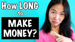 How Long Does It Take To Make Money Online